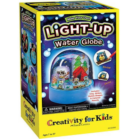 Light-Up Watrer Globe