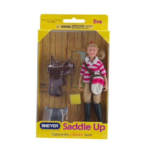 Breyer Saddle Up Girl w/Accessories