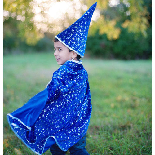 Creative Glitter Wizard Set w/Cape & Hat