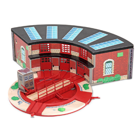 M&D Deluxe Roundhouse & Turntable Set