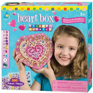 Orb Factory Sticky Mosaics Heart Box
