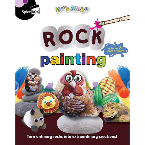 Lets Make Rock Painting
