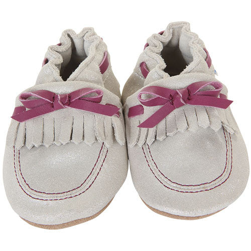 Robeez Girls Cali Cream Cream 18-24 Months