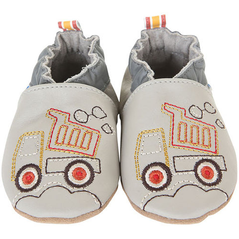 Robeez Boys Lofty Grey Grey 18-24 Months