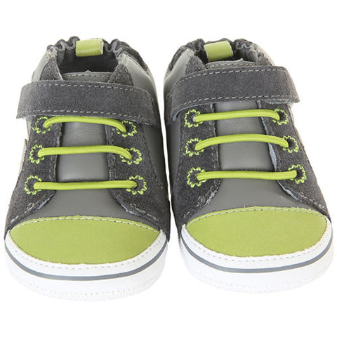 Robeez Boys Lucky Star Grey US 6