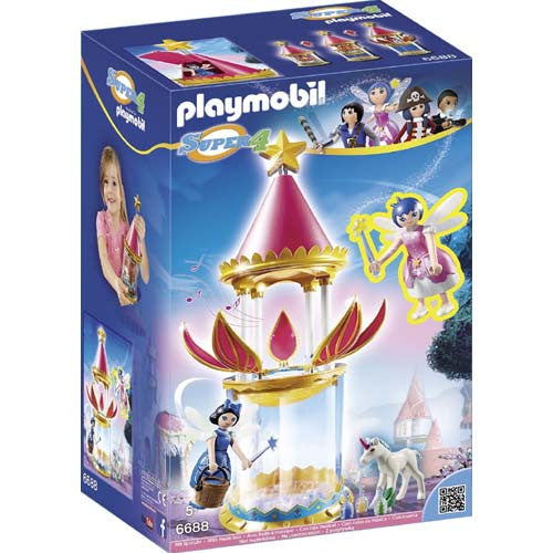 Playmobil Super 4 Musical Flower Tower w