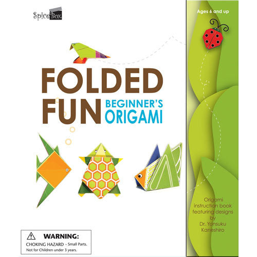 Spicebox Fun with Folded Fun Origami