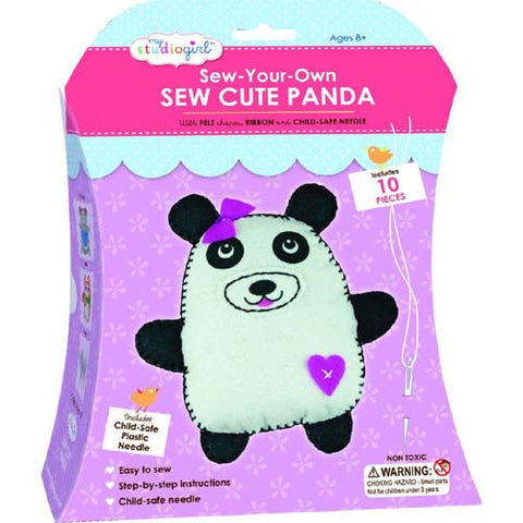My Studio Girl Sew Cute Panda