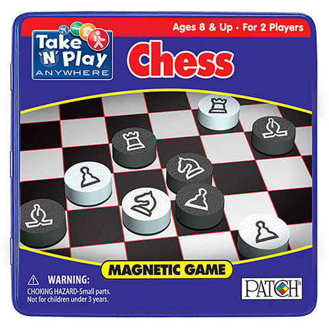 Patch Chess Magnetic Take N Play
