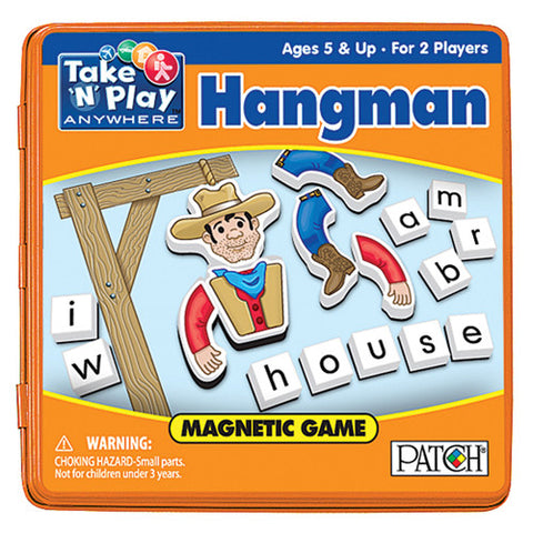 Patch Hangman Magnetic Take N Play