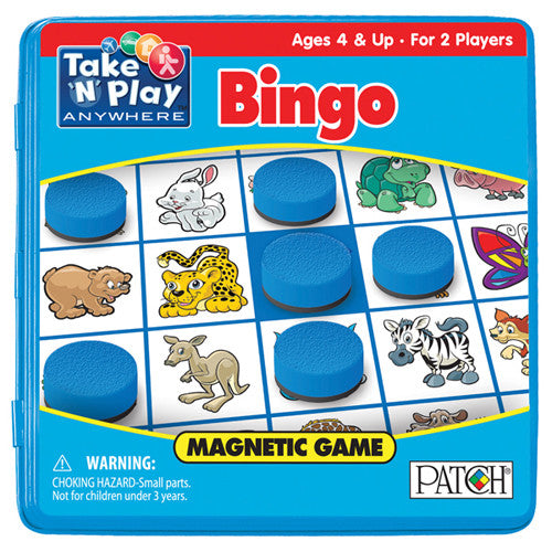 Patch Bingo Magnetic Take N Play