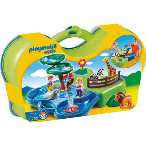 Playmobil 123 Take Along Zoo & Aquarium