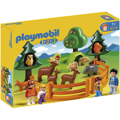 Playmobil 1-2-3- Forset Animal Park