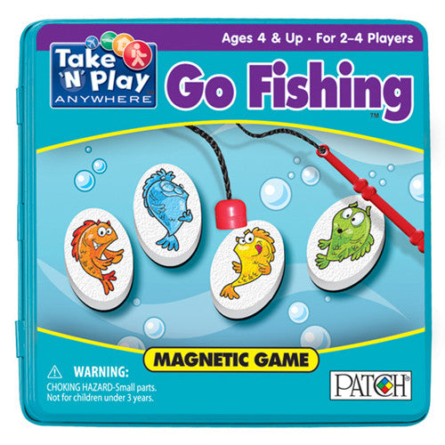 Patch Go Fishing Magnetic Take N Play