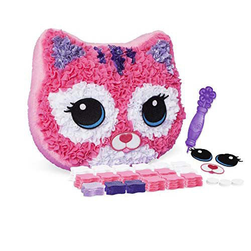 Orb Factory Plush Craft Purr-Fect Pillow