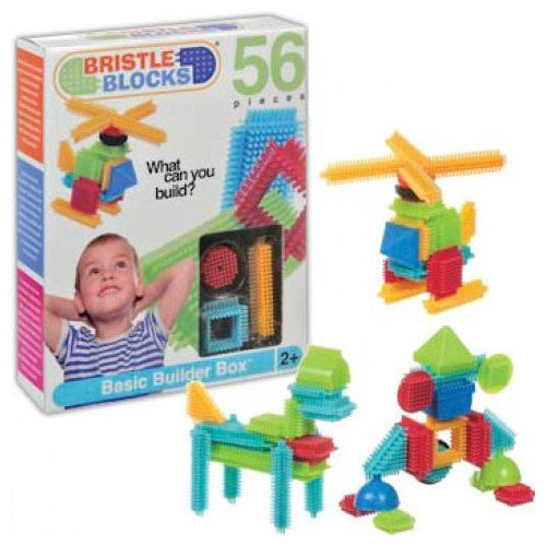 Toysmith 56pc Bristle Block Set