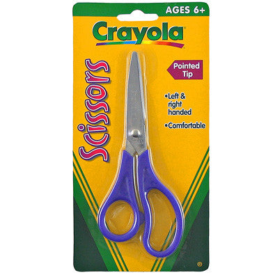 Crayola Pointed Tip Metal Blade Scissors