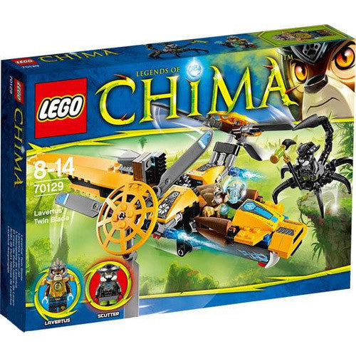 Lego Chima Lavertus Twin Blade