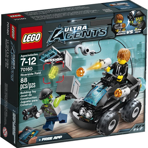 Lego Ultra Agents Riverside Raid
