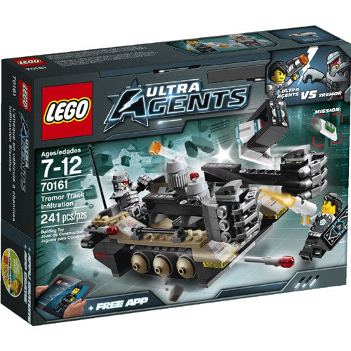 Lego Ultra Agents Tremor Track Infiltrat