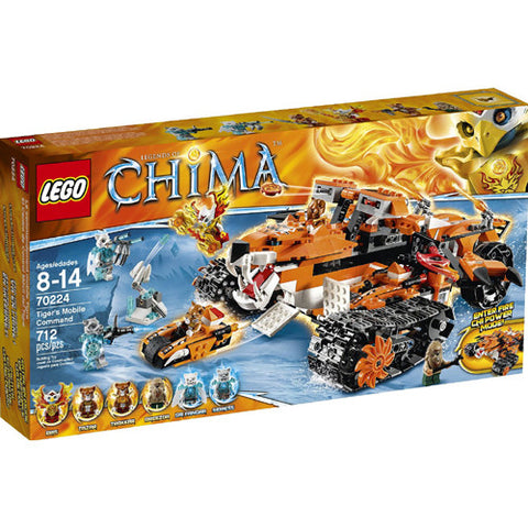 Lego Chima Tiger's Mobile Command