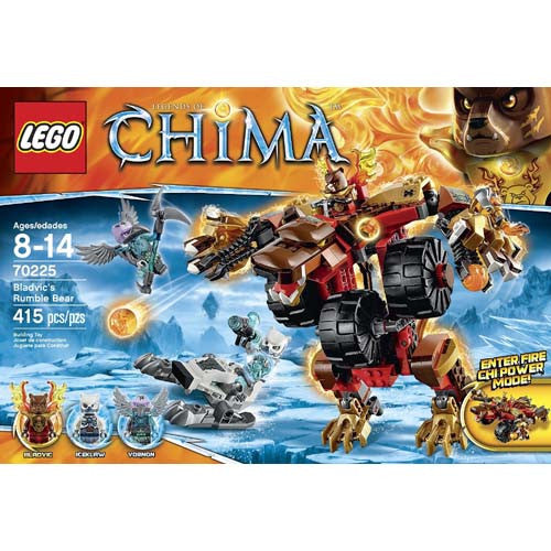 Lego Chima Bladvic's Rumble Bear