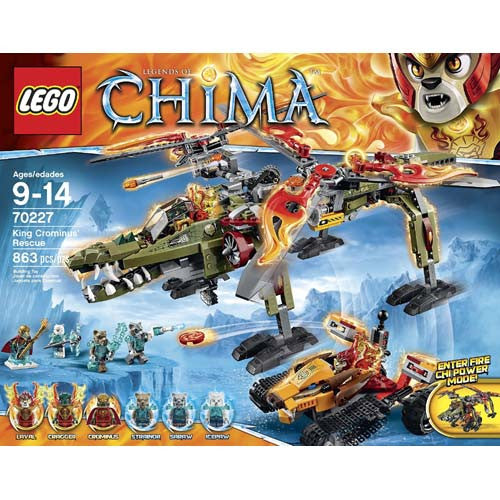 Lego Chima King Crominus' Rescue