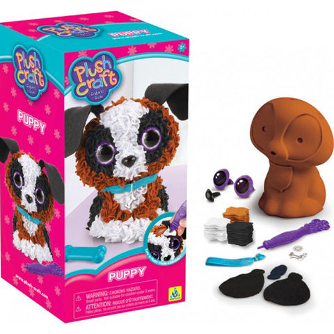 Orb Factory PlushCraft Puppy 3D