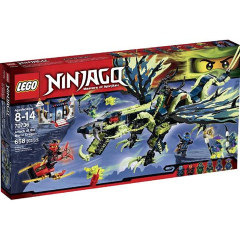 Lego Ninjago Attach of Morro Dragon