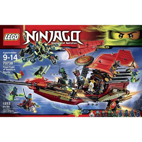 Lego Ninjago Fight of Destiny's Bounty