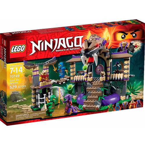 Lego Ninjago Enter the Serpent
