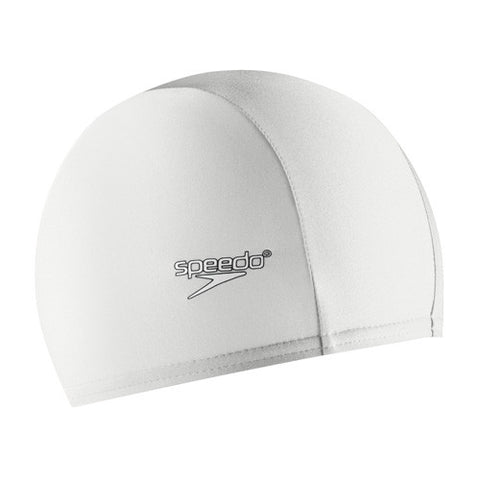 Speedo Lycra Swim Cap White