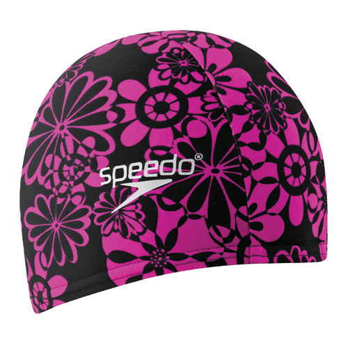 Speedo Lycra Swim Cap Black/Pink