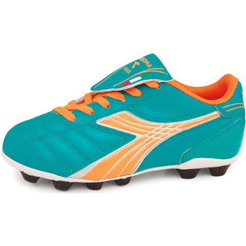 Diadora Forza MD Jr Aqua Tangerine 10.0 Youth