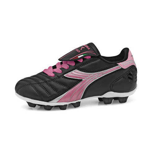 Diadora Forza MD Jr Black Pink 10.5 Youth