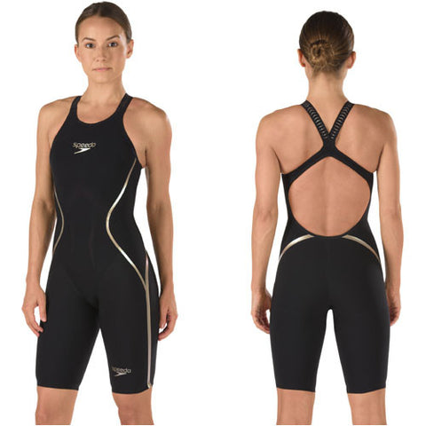 LZR Racer X Fem Open Back Gold 26