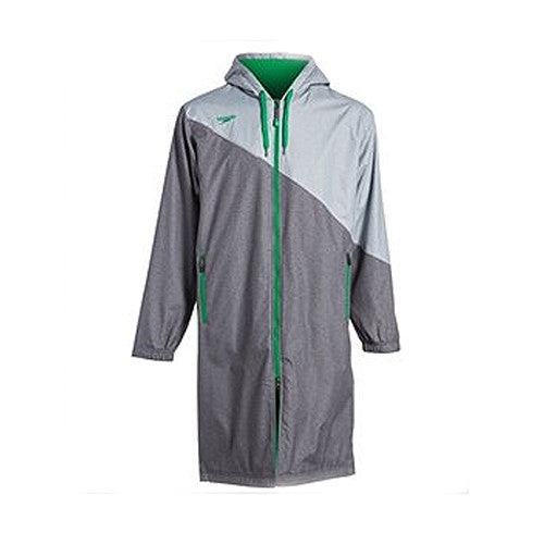 Speedo Color Block Parka SM Green