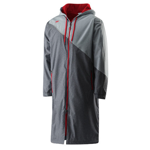 Speedo Color Block Parka SM Red