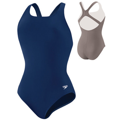Speedo Moderate Ultraback Blue 14