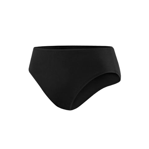 Speedo Solid Bottom w/ Core Compression Black 14