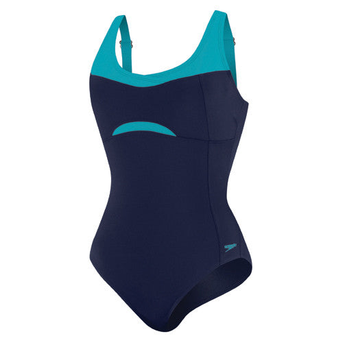 Speedo Empire Splice AdjBack Cross Nautical Navy 14