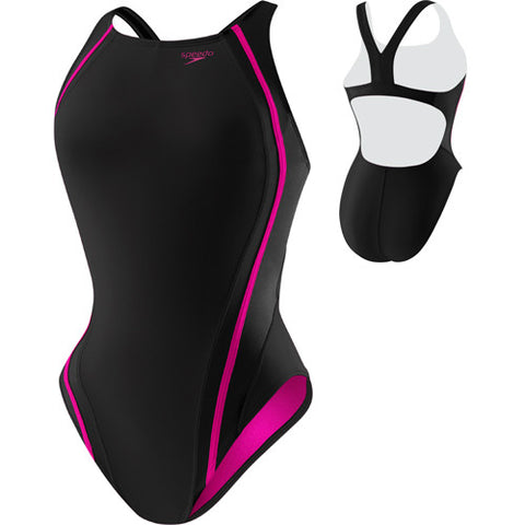 Speedo Quantum Splice Black/Pink 4