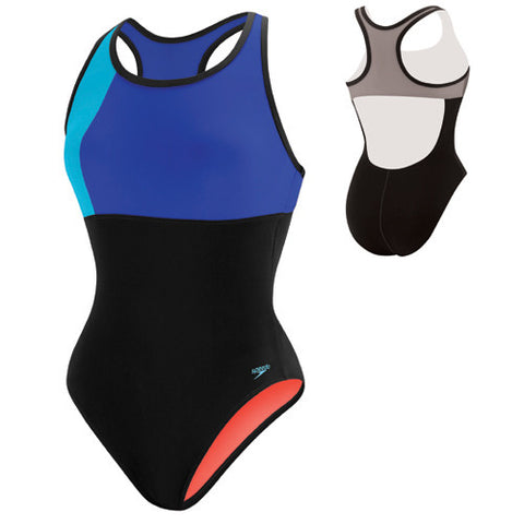 Speedo ColorBlock Thick Strap Deep 14