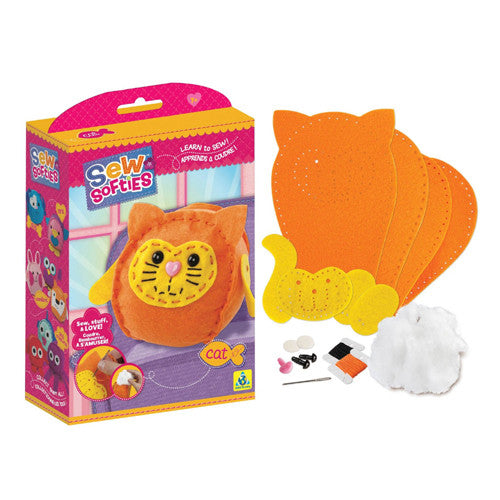 Orb Factory Sew Softies Cat