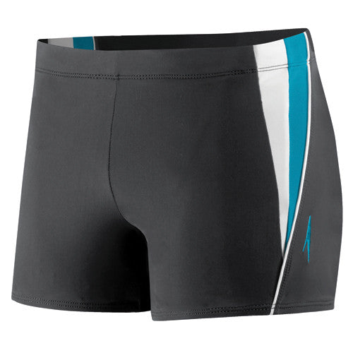 Speedo Fitness Splice Square Leg Black MD