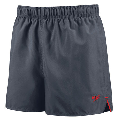 Speedo Solid Surfrunner Swim Shorts Granite SM