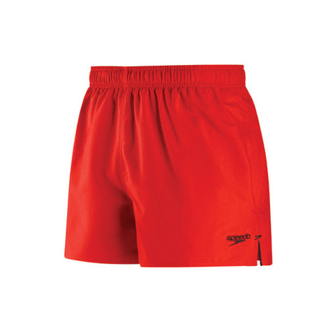 Speedo Solid Surfrunner Swim Shorts Fiesta Red MD