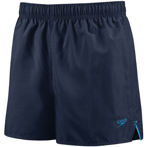Speedo Solid Surfrunner Swim Shorts Navy/Blue SM