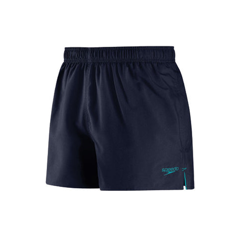 Speedo Solid Surfrunner Swim Shorts Navy/Teal SM