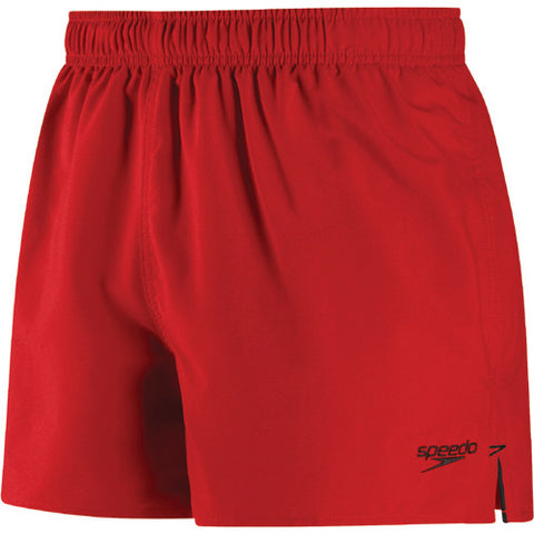 Speedo Solid Surfrunner Swim Shorts Red Bluff LG